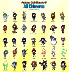 FCS3: All Chimeras by ClemiNeko