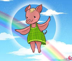 When Pigs Fly by dMourn3ing-the-Glory