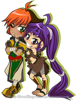 Chibi::. Yoshihiro style - SafariShipping by Priss-BloodEmpress