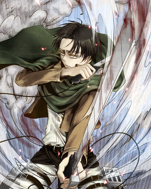 Levi X Reader- Imitating Levi! (Oneshot!) by ShadowRealm666 on