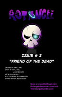 Issue #2 title page by RotAngel