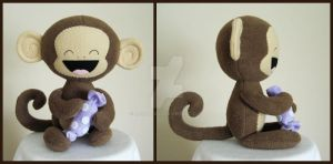 Sweet-Toothed Monkey by melkatsa
