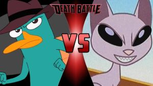 Perry the Platypus vs. Mr. Kat by OmnicidalClown1992