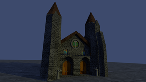 Hammerite Cathedral  - front by MarcinBBlack