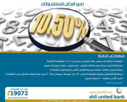 AhliUnited Bank Egypt Press AD by AhmedNassar