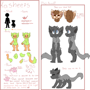 Open Species | Kasheeps by Pixy-Anna