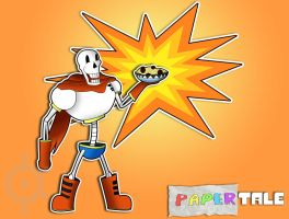 Undertale - The Great Paper-rus (Papertale) by MasterKtheUndying