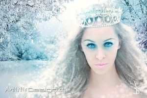 Winter Princess by art1st1cDes1gn