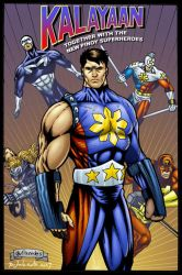 Kalayaan with Heroes by gioparedes