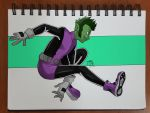 Day 160 Beast boy by TomatoStyles