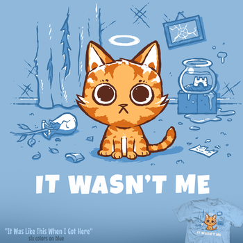 It Was Like This When I Got Here - tee by InfinityWave