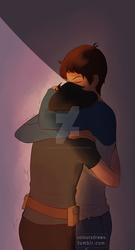 KLance_Hugs by colourful-crayons95