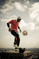 Soccer freestyle by Hyper-Shade