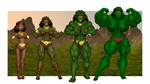 Diana - From Acrobat to...Hulk? by OrionPax09
