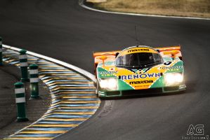 Mazda 787B by alexisgoure