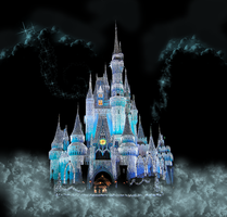 Castle Fantasy Background by WDWParksGal-Stock
