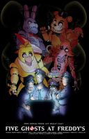 Five Ghosts at Freddy's by SoVeryUnofficial