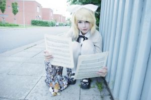 Kagamine notes by ECOC