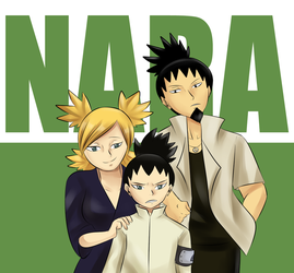 Nara Family Picture by MintAnnComics