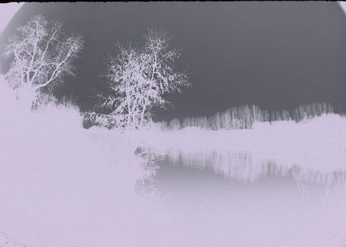 chesham lake negative by loobyloukitty