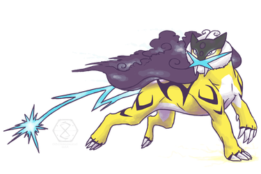 Raikou, The Thunderstorm by 6th-Dimensional