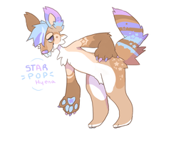 Starry Hyena babe for sale .:CLOSED:. by Diiragon