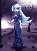 Zarelle's Night Out by falingard