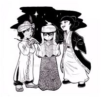 The Three Wise Men by InnuDoggy