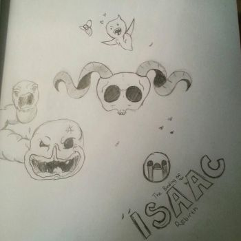 The Binding of Isaac by Stephie212202