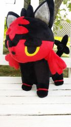 Litten Plush! by PollyRockets