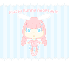 Fluffy Bunny Adoptable [CLOSED!] by Sugary-Stardust