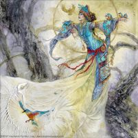 Of Kingfishers and Bones by puimun