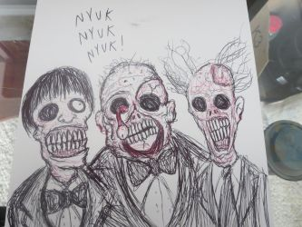 Zombie Stooges by FloppsyProduction
