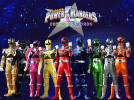 Power Rangers Cosmo Squadron by ThePeoplesLima