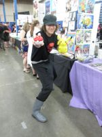 Team Rocket Grunt cosplay by videogameking613