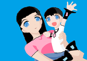 Vocaloid Kacey and Kevin by TianaKoopa1