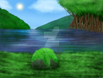 Krita - Background practice by Kitty101ck