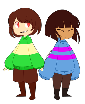 tiny children by curious-emmie