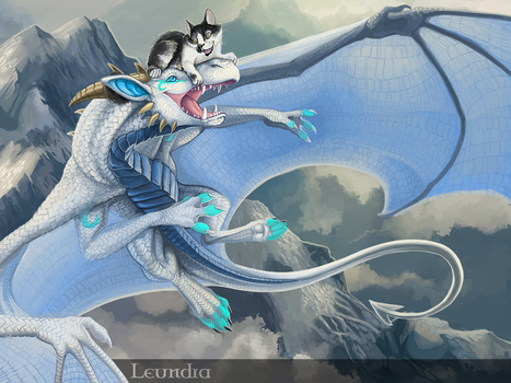 Happy flight by Leundra