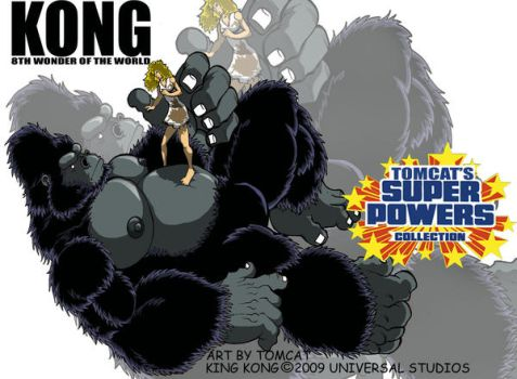 King Kong by tomcat13