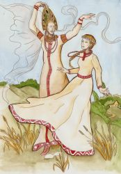 Heydrich lady of the mist Dance of midday ladies by hello-heydi