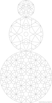 Coloring Page #11 'Snowman' by fewilcox