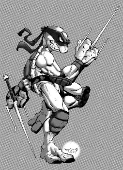 TMNT :: Raph :: ZIP-a-TONE by Red-J