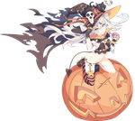Kantai collection amatsukaze vector halloween by kyuubi3000