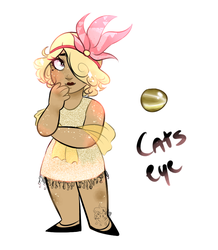 MOVED (OPEN)Cat's Eye Gem Adopt by DaddySexbang