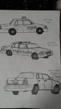Ford Crown victoria practice 2 by sunung0317