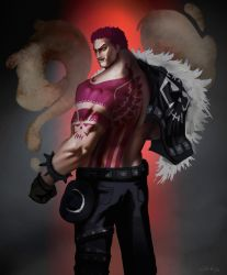 The Second Son: Charlotte Katakuri by xraypr