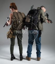 Post Apocalyptic Group 43 - Stock Photography by NeoStockz
