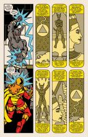 Lady Spectra and Sparky: Star Tomb pg.12 by JKCarrier