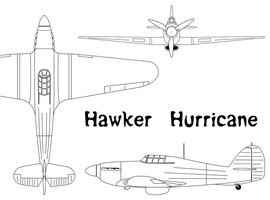 Hawker Hurricane by Pasteljam